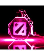 Dota 2 Crystal LED Key Chain