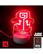 DOTA 2 Juggernaut Design LED Desk Lamp