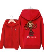 DOTA 2 Lina Hooded Sweatshirt &  Zip Up Hoodie