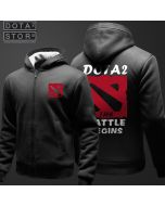 DOTA 2 Logo Plus Velvet Thickening Hoodie
