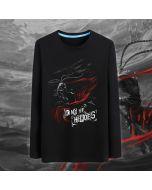 DOTA 2 Monkey King Design Black Sweatshirt Mens