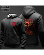 DOTA 2 Shadow Fiend Plus Velvet Thickening Hoodie