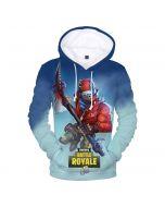 Fortnite Battle Royale 3D Pullover Hoodie