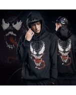 Marvel Venom Sweatshirts Sturdy Superhero Hoodie