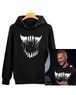 Marvel Venom Tom Hardy Pullover Hoodie Sweatshirt