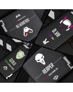 Overwatch logo wallets
