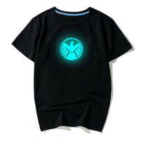 Agents of S.H.I.E.L.D Printed Luminous T Shirt