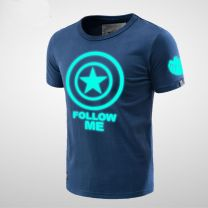 Captain America Luminous Men T-shirt