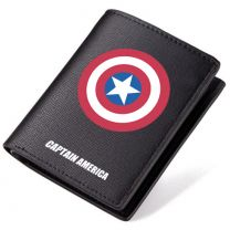 Captain America PU Leather Bifold Wallet