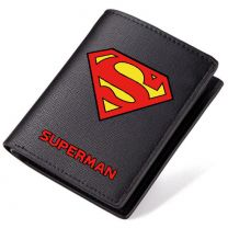 DC Superman PU Leather Bifold Wallet