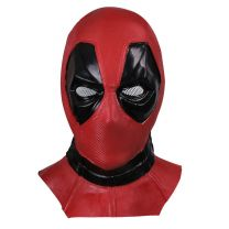 Deadpool Cosplay Leather Mask
