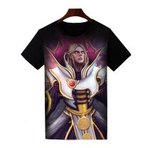 Dota 2 Invoker Printed T-Shirt Short Sleeve Shirt