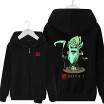 DOTA 2 Necrophos Printed Hoodie Sweatshirt