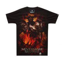 Dota 2 Nevermore Shadow Fiend Printed T-Shirt Tee Top