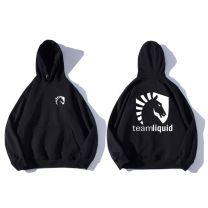 Dota 2 Team Liquid Pullover Fleece Hooded Sweatshirt