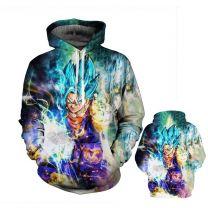 Dragon Ball Z Super Saiyan Fashion Hoodie