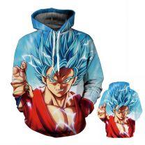 Dragon Ball Z Super Saiyan Pullover Hoodie