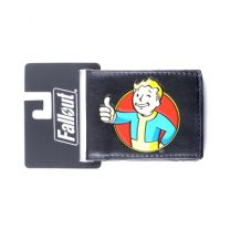 Fallout Shelte Vault Boy Wallet PU Leather Purse