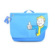 Fallout Vault Boy Blue Messenger Bag Shoulder Bag