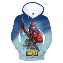 Fortnite Battle Royale 3D Pullover Hoodie