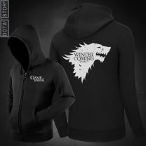 Game of Thrones Stark Wolf Printed Hoodie
