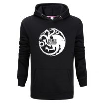 Game of thrones targaryen fire and blood printed hoodie Sweatshirt