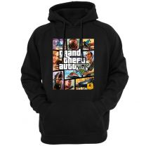 Grand Theft Auto Logo Pullover Hoodie