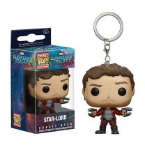 Guardians of the Galaxy Star-Load Funko POP Keychain