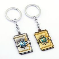 HearthStone Heroes Of Warcraft Logo Keychain
