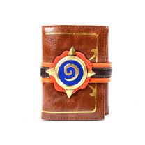 Hearthstone Three Folds Genuine Leather Wallet
