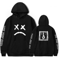 Lil Peep Crying Face Pullover Hoodie Sweatshirt