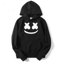 Marshmello Face Pullover Hoodie Sweatshirt