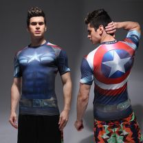 Marvel Captain America Fitness T-Shirt - Men's