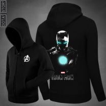 Marvel Iron Man Zipper Hoodie Sweatshirt With Hoody