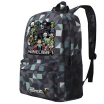 Minecraft Creepy Creeper Kids School Backpack