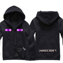 Minecraft Enderman Zip-up Hoodie for men and women