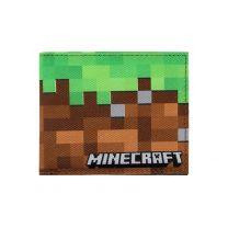 Minecraft Green Lawn Kids Canvas Wallet