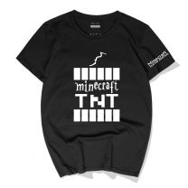 Minecraft TNT Printed T Shirt for men and women