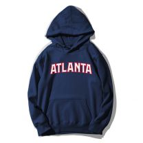 NBA Atlanta Printed Pullover Hoodie