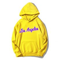 NBA Los Angeles Printed Pullover Hoodie