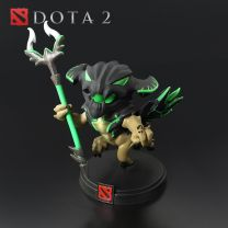 Dota 2 Outworld Devourer Demihero Vinyl Action Figure Model Toy