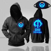 Overwatch Genji Luminous Pullover Hoodie
