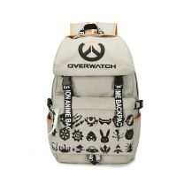 Overwatch Pattern Printed Backpack Rucksack School Bag