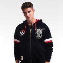 Overwatch Reaper Design Premium Black Hoodie