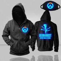 Overwatch Reinhardt Luminous Pullover Hoodie