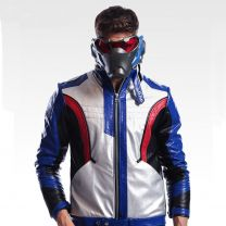 Overwatch Soldier 76 PU Leather Jacket