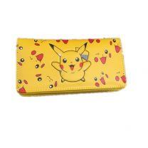 Pocket Monster Pikachu Pu Leather Wallet