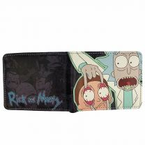 Rick and Morty Pu Leather Wallet
