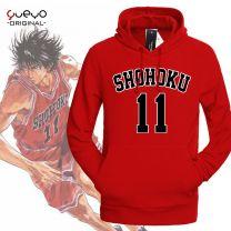 Slam Dunk Rukawa Kaede Number 11  Hoodie Sweatshirt