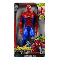 Spider Man Action Figure Model With LED Light And Sound